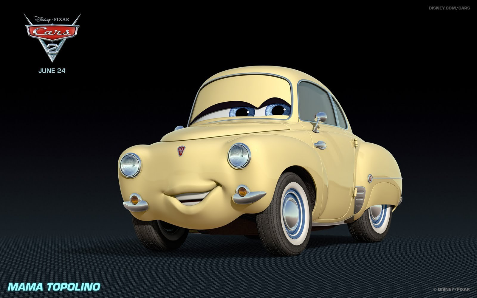 """Characters In Cars: New Characters From """"Cars 2"""""""