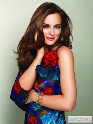 New photoshoot of Leighton Meester for Herbal Essences