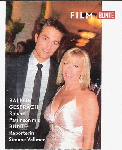 New scan of Robert in Buente Magazine - robert-pattinson Photo