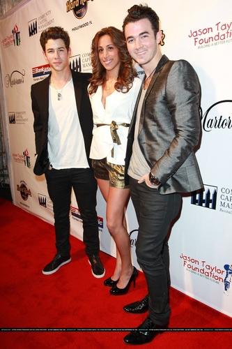 Nick and Kevin Jonas 2011
