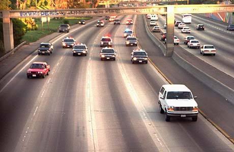 OJ Simpson Bronco chase