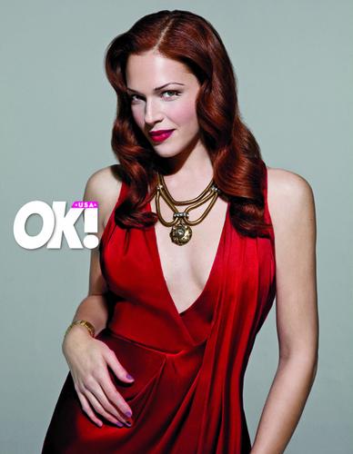 OK! Magazine Photoshoot