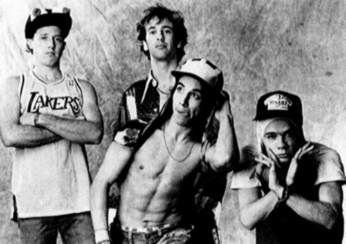 Red Hot Chili Peppers wallpaper possibly containing a hunk titled Old Peppers