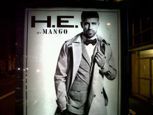 Pique in the streets of Barcelona
