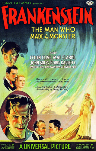 Frankenstein wallpaper containing anime titled Poster