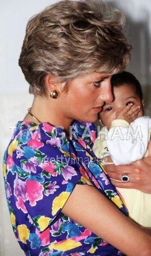 Princess Diana Visits Aids/hiv Hostel Brazil