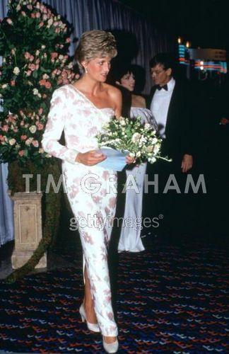 Princess of Wales and Liza Minnelli