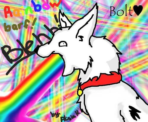 RainbowBarf BLEHHH! :D