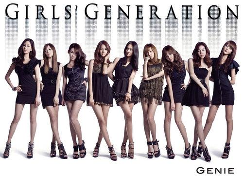 SNSD 日本 Genie album