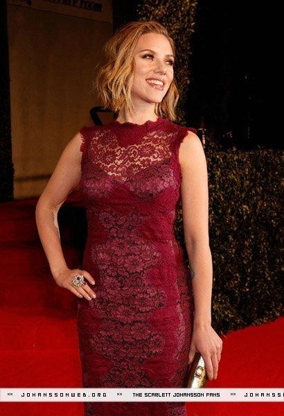 Scarlett Johansson @ 2011 Vanity Fair Oscar Party