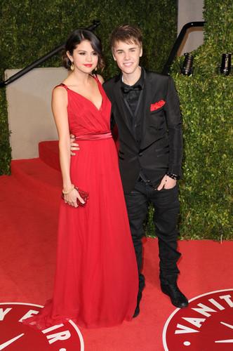 Selena Gomez and boyfriend Justin Bieber