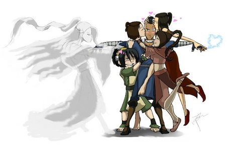 Sokka's ladies