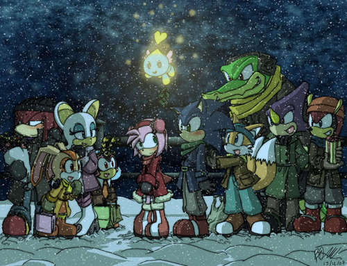Sonic the Hedgehog images Sonic Christmas HD wallpaper and ...