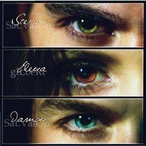 Stefan/Elena/Damon eyes - The Vampire Diaries TV Show Fan ...