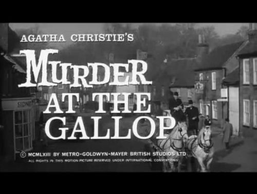 "Stringer Davis and Margaret Rutherford in The GREAT Film ""MURDER AT THE GALLOP"""