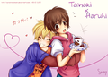 Tamaki and Haruhi - haruhi-and-tamaki photo