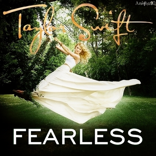 Taylor snel, swift - Fearless [My FanMade Single Cover]