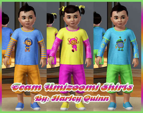 Team Umizoomi Toddler Shirts