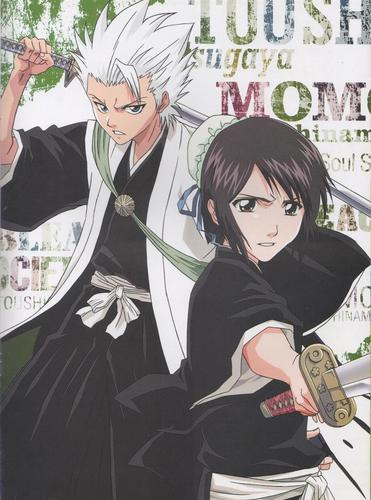 Toshirou and Hinamori