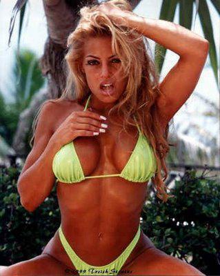 트리시 스트래터스 바탕화면 with a bikini entitled Trish Pic's