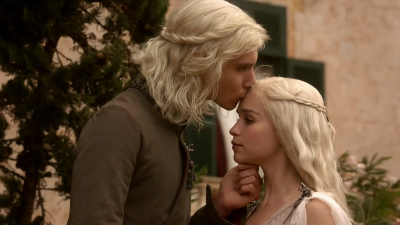 Viserys amp daenerys game of thrones photo 19738136 fanpop