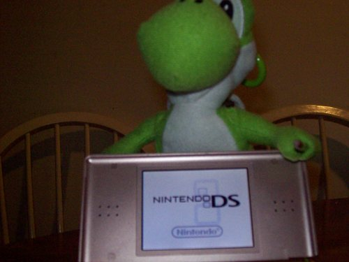 Nintendo DS achtergrond entitled Yoshi DS
