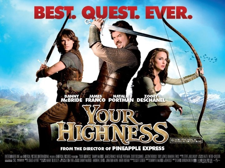 Your Highness UK Poster