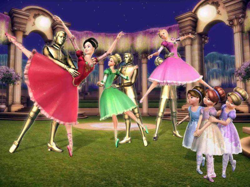 Barbie in the 12 Dancing Princesses Movie