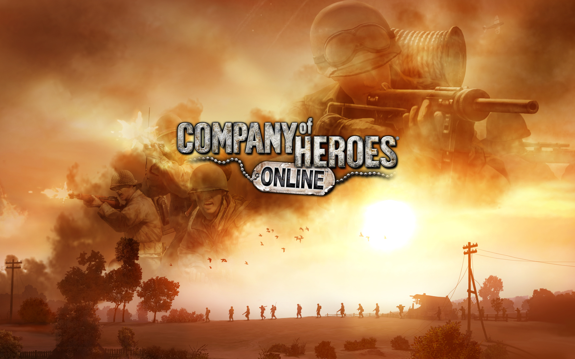 Company of heroes online images company of heroes online for The wallpaper company