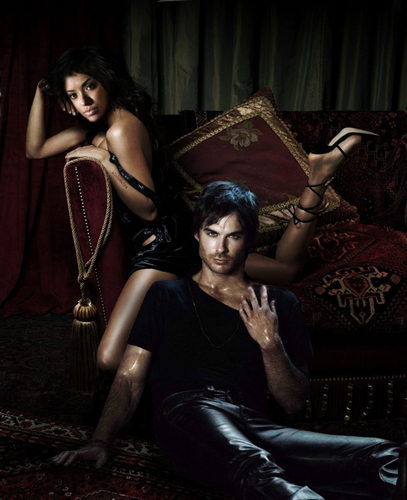 damon and bonnie ♥