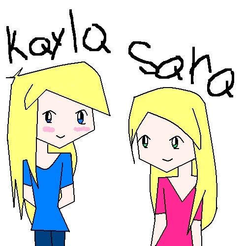 five 年 old kayla and sara
