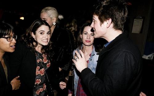 Nikki with her friends(27.02.11)