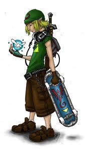 link with skate board