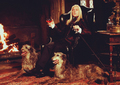 lucius at home - lucius-malfoy photo