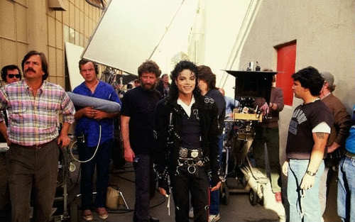 moonwalker speed demon making of