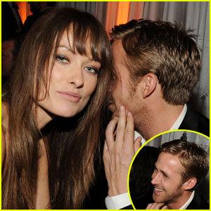 olivia wilde and Ryan Gosling