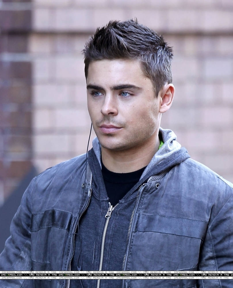 Zac Efron Short Hair New Years Eve zac 2011 - Zac Efron P...