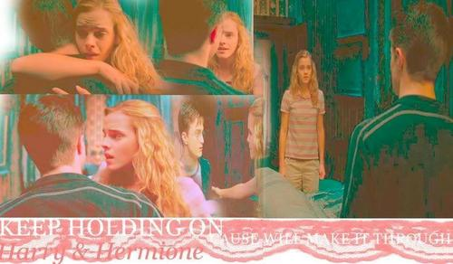 ♥Harry and Hermione♥
