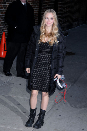 'Late tampil with David Letterman'