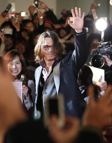 """The Tourist"" Japan Premiere - Johnny Depp March 3 - 2011"