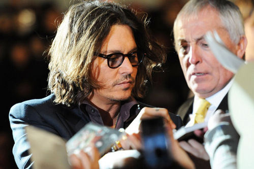 """The Tourist"" Japan Premiere - Johnny Depp March 3 - 2011"