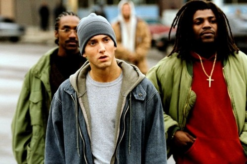 8 mile wallpaper probably containing a cappuccio called 8 Mile!