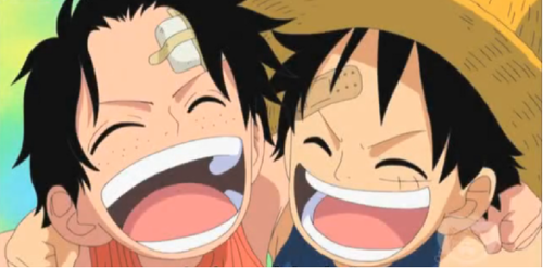 Ace And Luffy - monkey-d-luffy Screencap