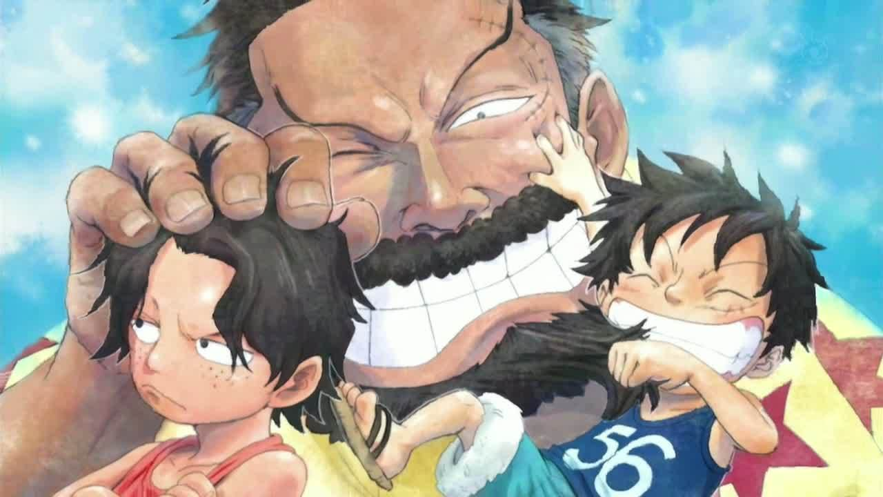 Monkey D Luffy Images Ace Luffy Garp Hd Fond D Ecran And