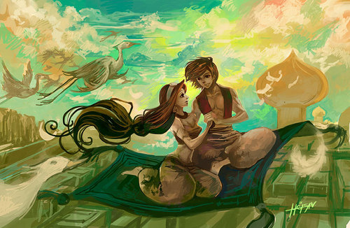 Aladdin & jasmijn