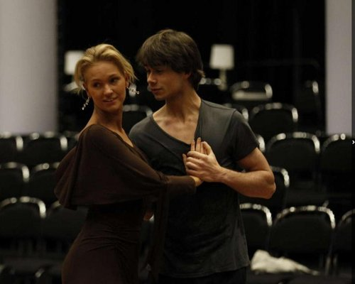 Alex rehearsing for let's dance :)