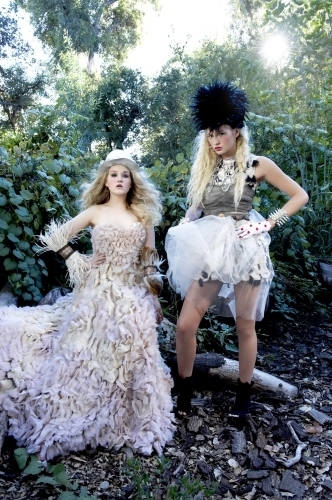America's suivant haut, retour au début Model Cycle 16 Couture Garden Party Photoshoot