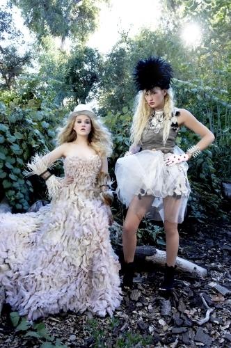 America's selanjutnya puncak, atas Model Cycle 16 Couture Garden Party Photoshoot