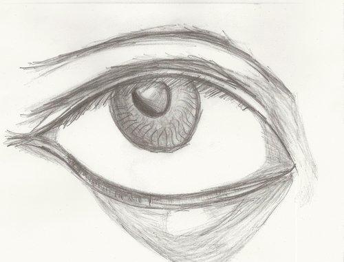 Annabeth's grey stormy eyes