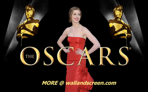 The academy awards images anne hathaway wallpaper hd - Oscar award wallpaper ...